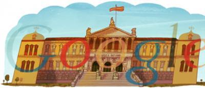 Google felicita a la Biblioteca Nacional por sus 300 años