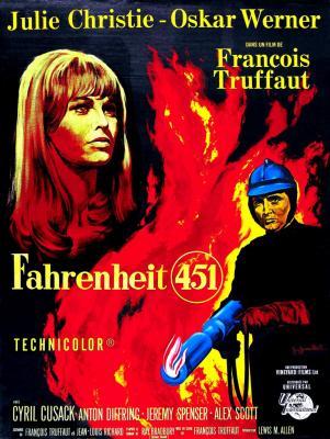 REFLEXIÓN PERSONAL EN TORNO A LA PELÍCULA FAHRENHEIT 451, DE FRANÇOIS TRUFFAUT (1966).